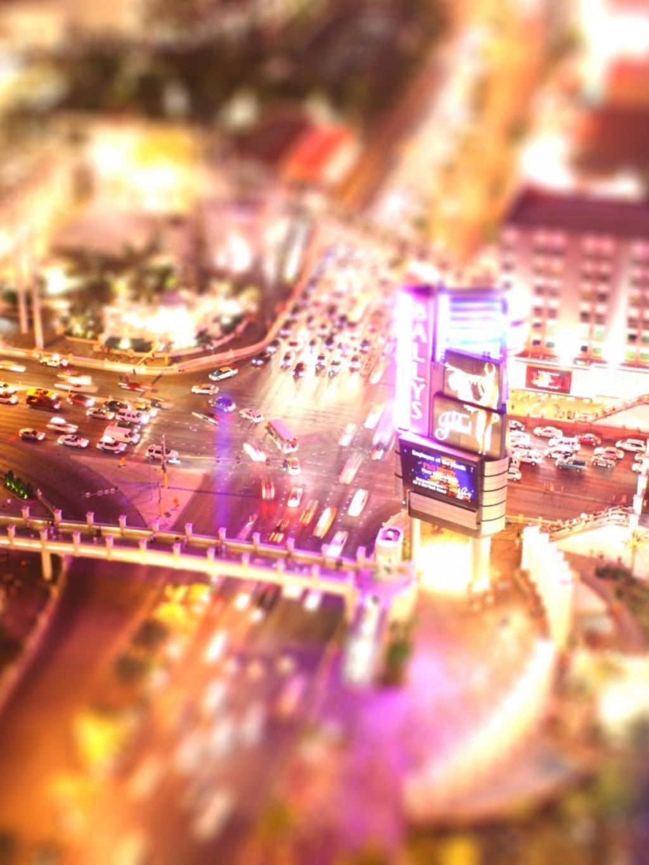 城市景观倾斜移动手机壁纸