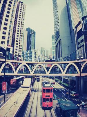 城市景观建筑移动壁纸
