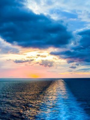 okean atlantika voda volny手机壁纸