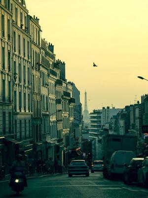 艾菲尔铁塔法国巴黎手机壁纸