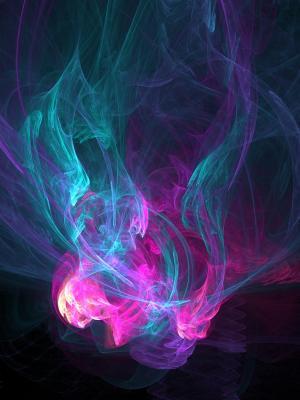 抽象烟移动壁纸