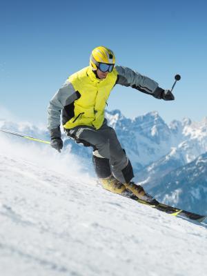 滑雪手机壁纸