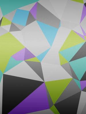 几何三角手机壁纸