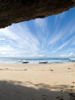 海洋云彩手机壁纸