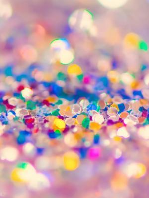 多彩的闪光手机壁纸