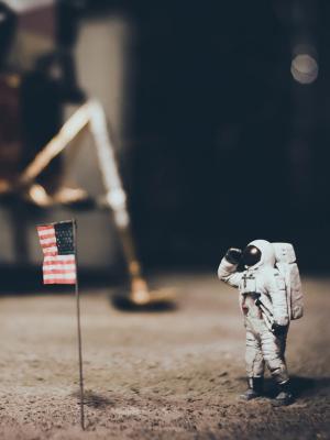 着陆器月亮宇航员手机壁纸