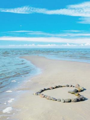 海滩爱移动壁纸