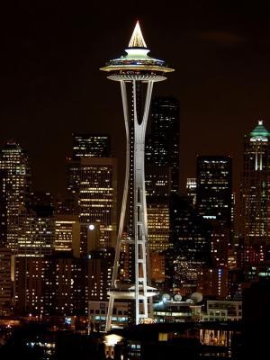 西雅图移动壁纸夜