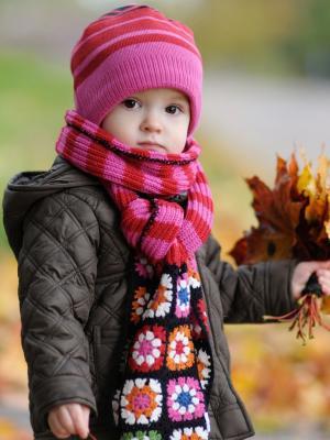 秋季手机壁纸的可爱宝贝