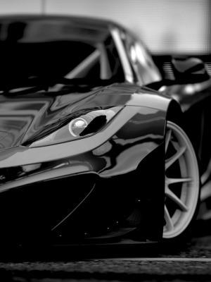 黑色汽车手机壁纸