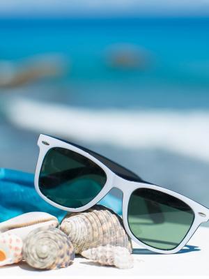 暑假海滩手机壁纸