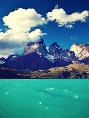 智利巴塔哥尼亚托雷斯移动壁纸