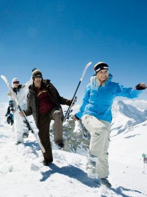 阿尔卑斯山滑雪移动壁纸