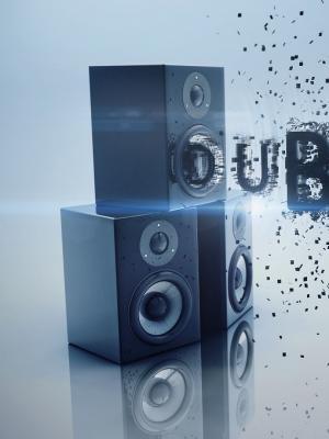 3D低音Dubstep手机壁纸
