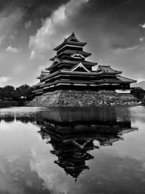 日本湖泊手机壁纸