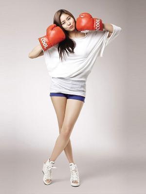 女孩亚洲拳击手机壁纸