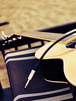 音乐吉他手机壁纸