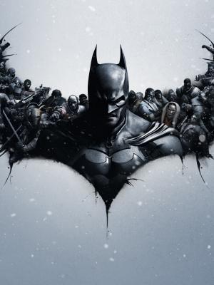 蝙蝠侠阿甘起源手机壁纸