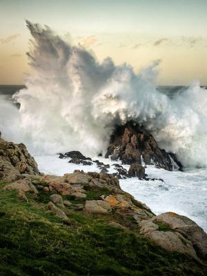 摇滚移动壁纸的波浪