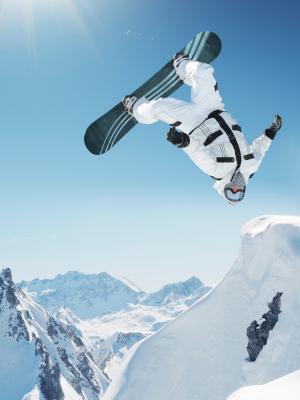极端滑雪移动壁纸