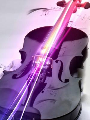 小提琴手机壁纸