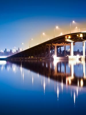 建筑桥梁手机壁纸