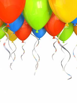 气球氦气手机壁纸