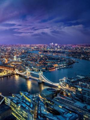 伦敦夜移动壁纸