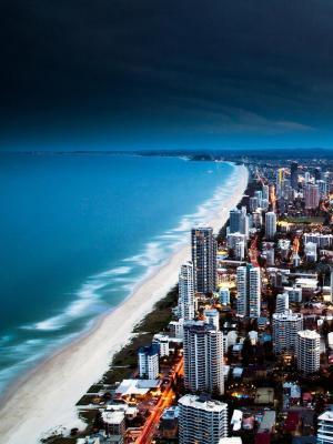 都市风景澳大利亚手机壁纸