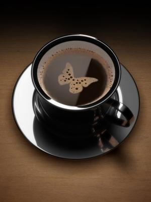 咖啡艺术手机壁纸