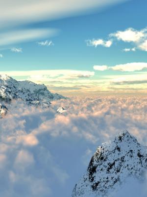 山云自然移动壁纸