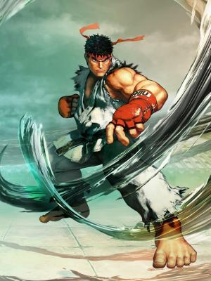 Ryu街头霸王V手机壁纸