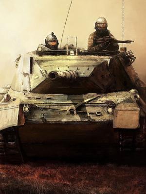 艺术坦克士兵武器移动壁纸