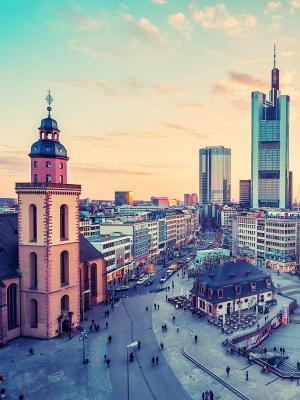 德国都市风景手机壁纸
