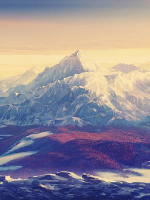 风景大自然雪移动壁纸