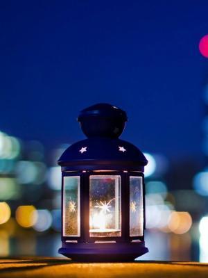 心情灯笼蜡烛手机壁纸