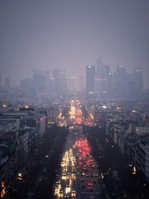 巴黎都市风景手机壁纸