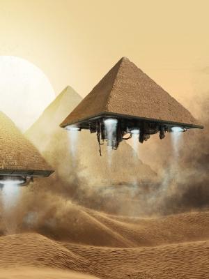 沙漠幻想艺术手机壁纸