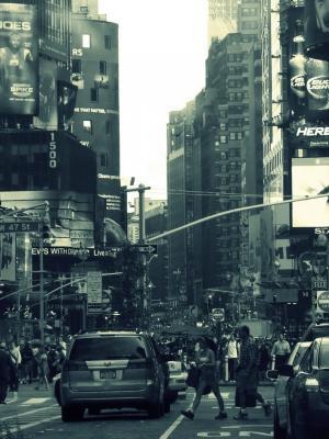 曼哈顿纽约移动壁纸