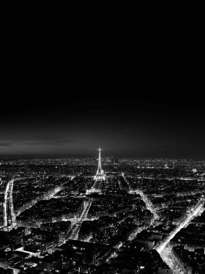 巴黎夜景移动壁纸