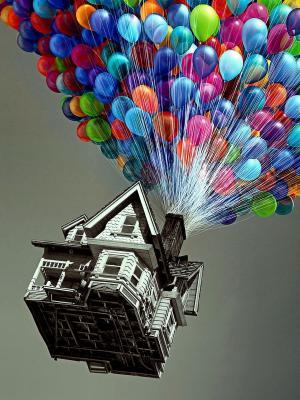 气球手机壁纸