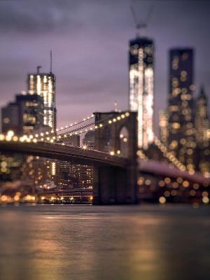 布鲁克林大桥纽约移动壁纸
