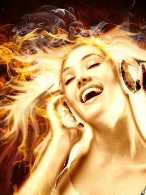 音乐消防手机壁纸