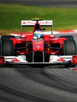 法拉利F1车手机壁纸