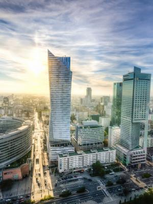 华沙中心免费许可移动壁纸