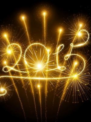 说再见,以满足2016年,2015年,手机沃尔我祝福你所有新年快乐手机壁纸