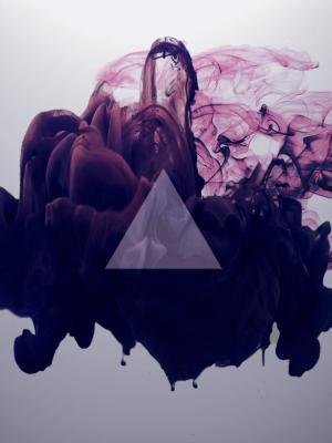 抽象的几何移动壁纸