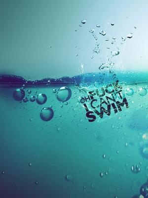 我无法游泳手机壁纸