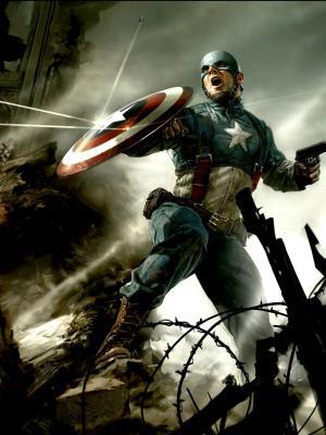 美国队长第一复仇者移动壁纸