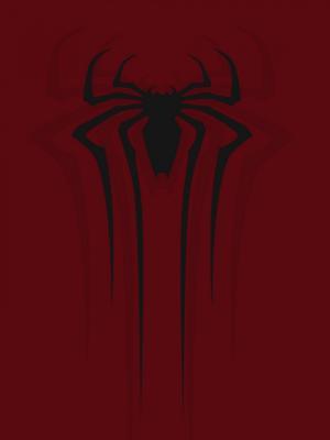 蜘蛛侠红色手机壁纸